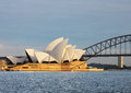 Sydney Opera House View from Mrs. Macquaries Point Royalty Free Stock Images