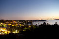 Sydney Skyline from Watsons Bay Stock Photo