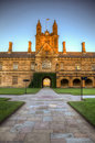 Sydney University Royalty Free Stock Photography
