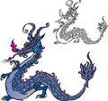 Symbol 2012 dragon Royalty Free Stock Photos
