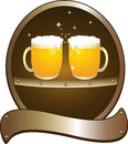 Symbol beer pub Royalty Free Stock Image