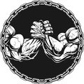 Symbol of the competition on armwrestling