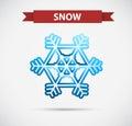 Symbol design for snow