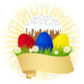 Symbol of Easter Royalty Free Stock Photos