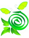 Symbol ecological recycled Royalty Free Stock Image