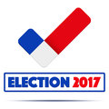 Symbol of Election 2017 in France