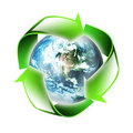 Symbol of the environment Royalty Free Stock Photos