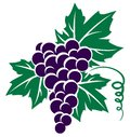 Symbol of grapes.