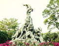 Symbol of guangzhou city landmark of guangzhou five goats statue in kwangchow guangdong canton province china is the and Royalty Free Stock Photo