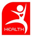 Symbol health creative design of Stock Images