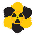 Symbol nuclear Stock Photos