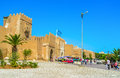 The symbol of old sfax tunisia september bab divan gates and high ramparts are symbols town on september in Stock Photos