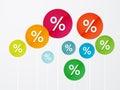 Symbol percent discounts