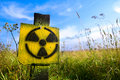 Symbol radiation Royalty Free Stock Photo