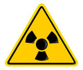 Symbol of radiation Royalty Free Stock Image