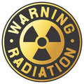 Symbol of radiation Royalty Free Stock Photography