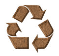 Symbol recycle tag Royalty Free Stock Photo