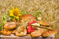 Symbol of a rich crop. Royalty Free Stock Photo