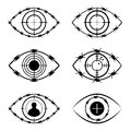The Symbol Set Of The Eye, Target, Barbed Wire