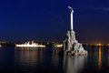 Symbol of Sevastopol Royalty Free Stock Photo