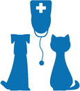 Symbol of veterinary medicine Stock Photography