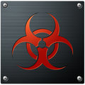 Symbole de Biohazard Photo stock