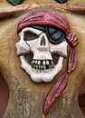 Symbole de pirate Images libres de droits