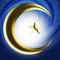 Symbole religieux - l'Islam Photo stock