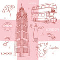 Symbols of London Stock Images