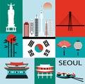 Symbols of Seoul.