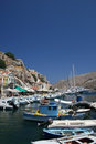 Symi bay Royalty Free Stock Photo