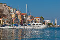Symi Island, Greece, Dodecanese Royalty Free Stock Image