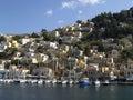Symi island view, Greece Stock Photo