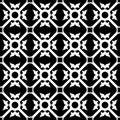 Symmetrical flower pattern Royalty Free Stock Photo