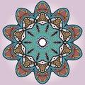 Symmetry pattern 01 Royalty Free Stock Photos