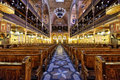 Synagogue in Budapest Royalty Free Stock Photo