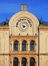 Synagogue detail of the exterior of in hungary pecs Stock Image