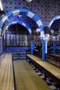 Synagogue Interior - Djerba Ghriba, Jewish Faith, Travel Tunisia Royalty Free Stock Photo