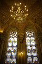Synagogue interior of the grand choral in st petersburg Stock Image