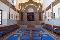 Synagogue marrakech was built early twentieth century world war i moroccan jewish community was still important Stock Image