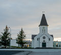 Synagogue southern iceland in keflavik Stock Photography