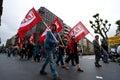 Syndicate union basque manifestation Royalty Free Stock Images