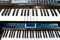 Synthesizer Royalty Free Stock Image