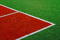 Synthetic sports field 14 Royalty Free Stock Images