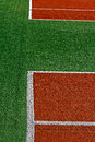 Synthetic sports field 16 Stock Images
