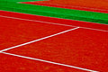 Synthetic sports field 51 Royalty Free Stock Photos