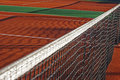 Synthetic sports field for tennis 1 Stock Image