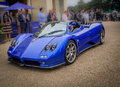 Syon park london salon prive super sports motor car show ferarri zonda bmw bently bugatti lister lotus alfa rare and exotic cars Stock Images