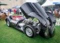 Syon park london salon prive super sports motor car show ferarri zonda bmw bently bugatti lister lotus alfa rare and exotic cars Stock Images