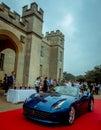 Syon park london salon prive super sports motor car show ferarri zonda bmw bently bugatti lister lotus alfa rare and exotic cars Royalty Free Stock Image